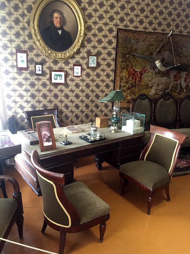 кабинет отца художника Шишкина