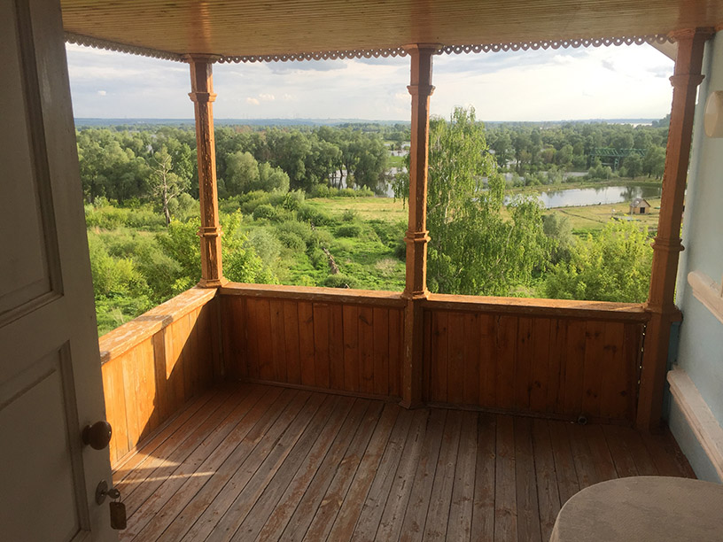 Дом Шишкина в Елабуге (терасса)