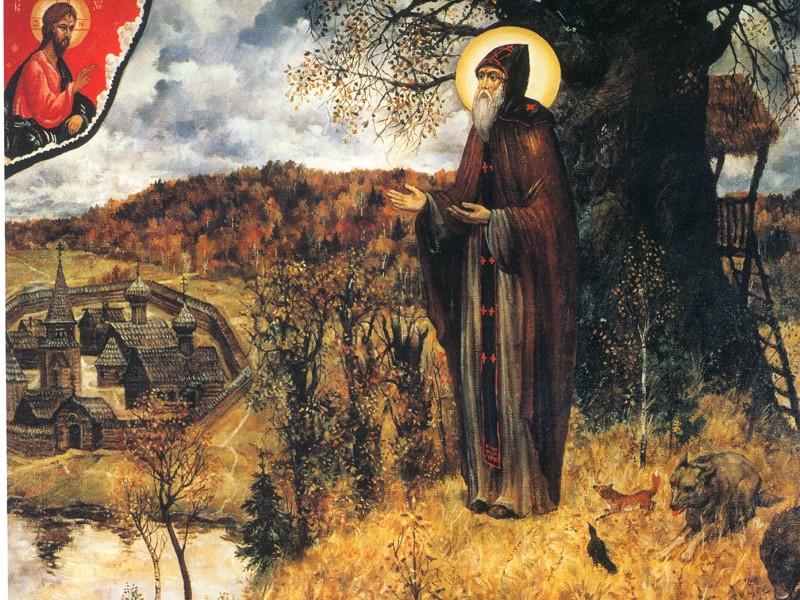 Картина Иеромонаха Рафаила (Сергея Симакова)