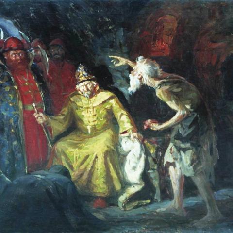 Андрей Рябушкин — Иван Грозный с приближенными, 1901