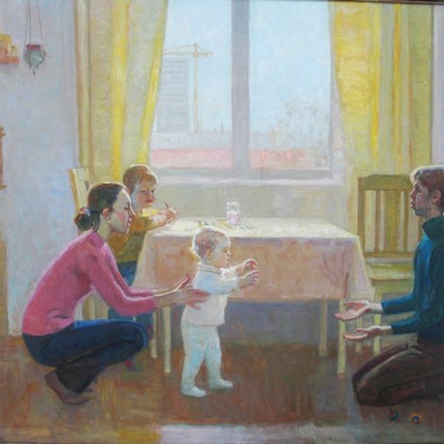 Эльмира Петрова (род. 1975) Первые шаги. 2007 г.