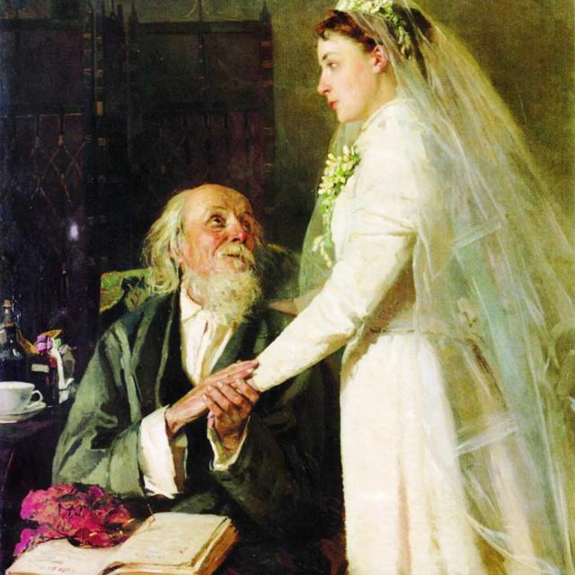 К венцу (Прощание) Владимир Егорович Маковский 1894 г.