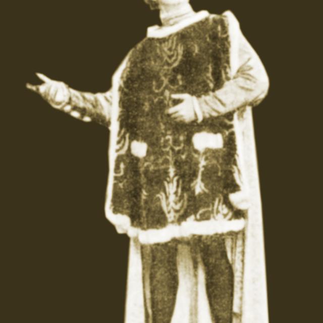 М. Михайлов в роли Капулетти в балете «Ромео и Джульетта»