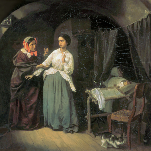 Николай Густавович Шильдер (1828-1898) Искушение