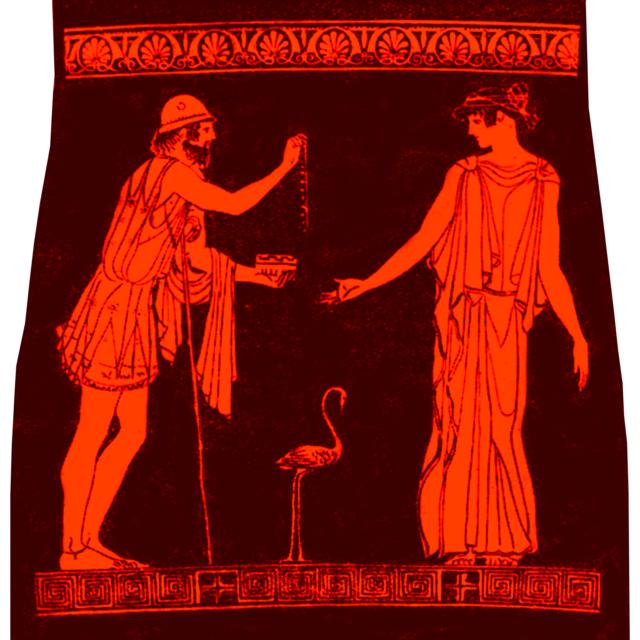 «Полиник передает Эрифиле ожерелье»