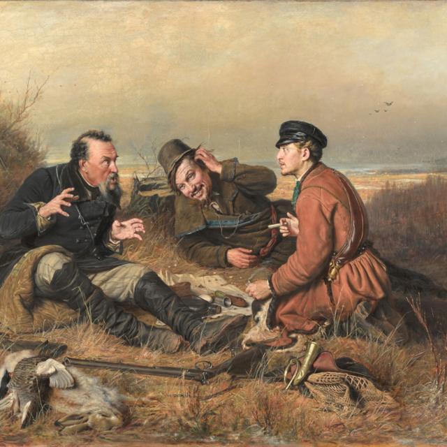 В. Г. Перов «Охотники на привале»