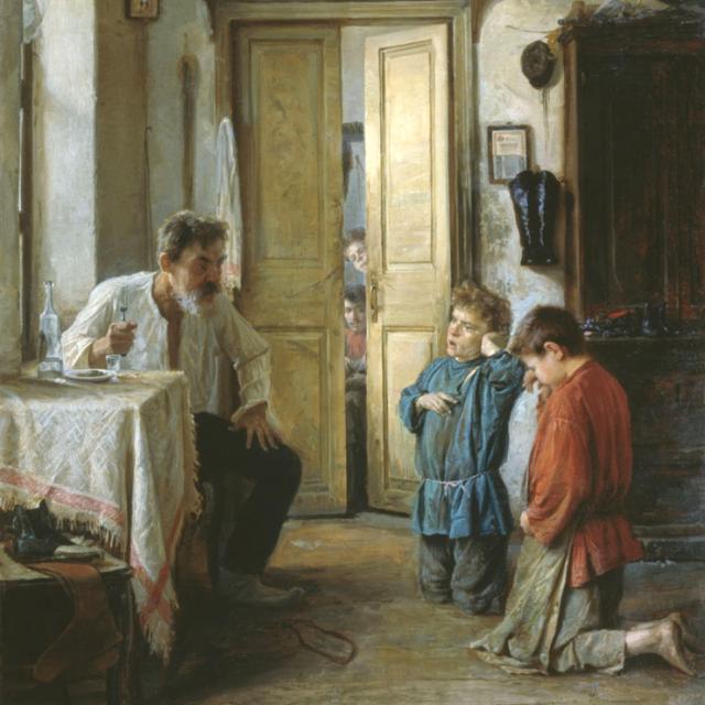 «Воспитатель» Михаил Ватутин 1892