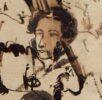 Пушкин. Автопортрет. Лето 1826, после казни декабристов. ПД. 798. Л. 1