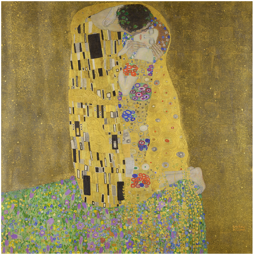 The Kiss Густав Климт (1908-1909)