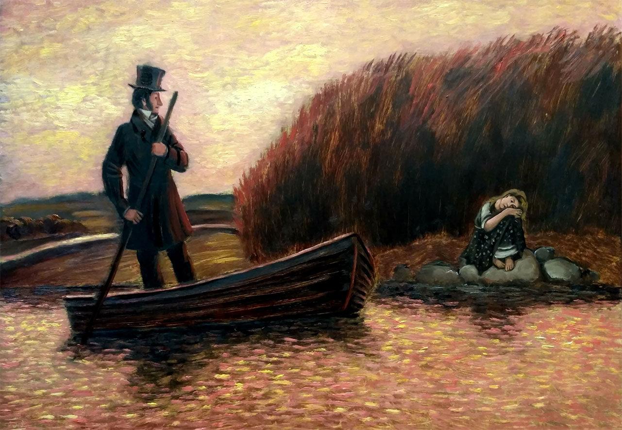 Пушкин и Алёнушка