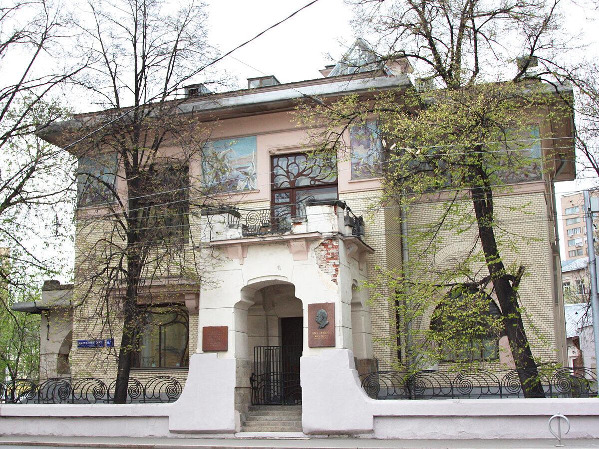Особняк С.П. Рябушинского на Малой Никитской улице.