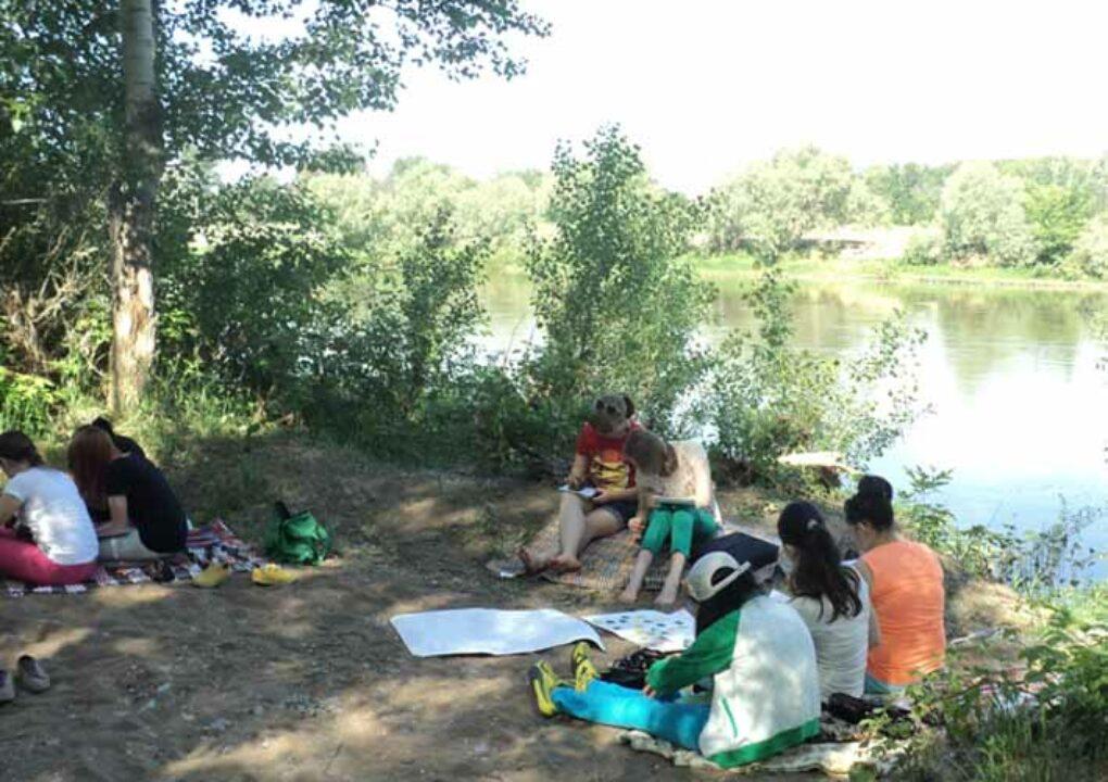 Подготовка к ЕГЭ на берегу реки (11 кл)