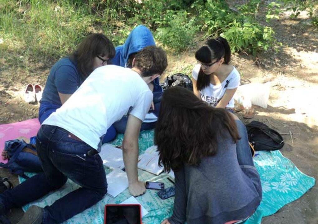Подготовка к ЕГЭ на берегу реки (11 кл)1