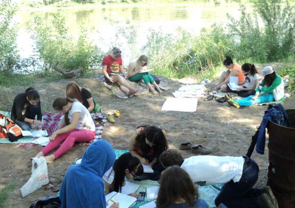 Подготовка к ЕГЭ на берегу реки (11 кл)3